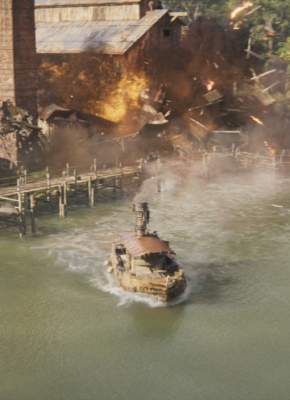 Rising Sun Pictures Deliver 300 VFX shots for Disney's much anticipated 'Jungle Cruise'