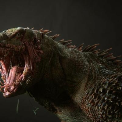Texturing Reptile in Mortal Kombat
